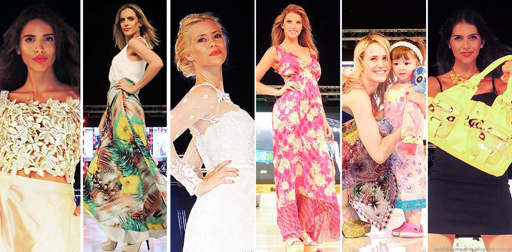 Lo mejor de la moda 2015 en el desfile Moda Look Buenos Aires primavera verano 2015.