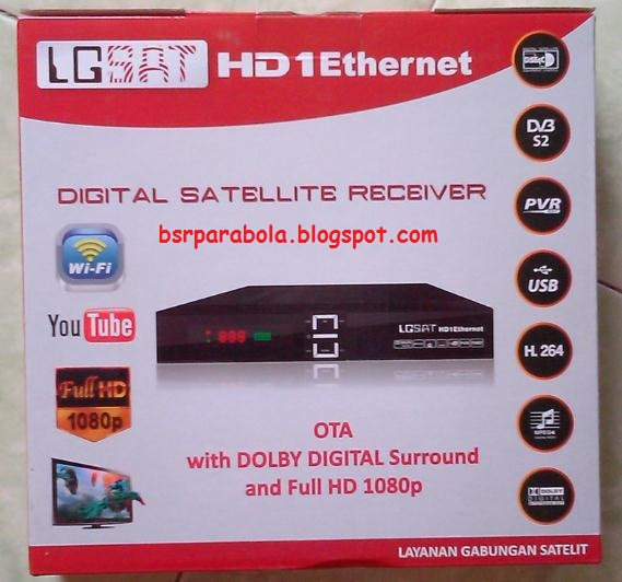 LGsat HD Ethernet