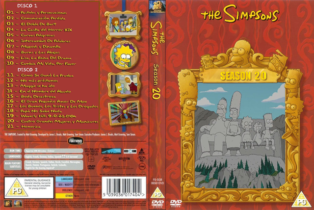 Los Simpsons Temporada 20 Audio Latino Descarga Directa