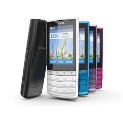 Celular Desbloqueado Nokia X3 02 Rosa c Câmera 5MP  - imagens do celular nokia x3-02