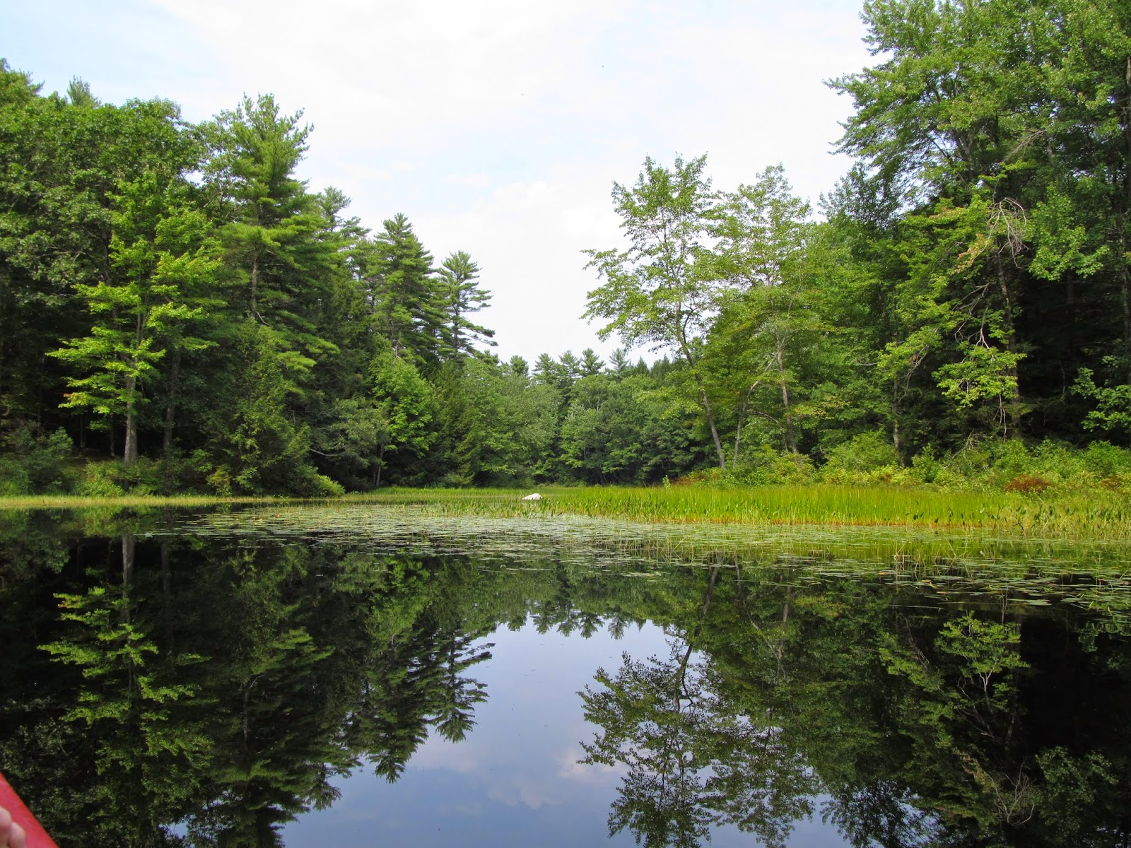 Recreational kayaking in maine highland lake new perspective for Free land maine