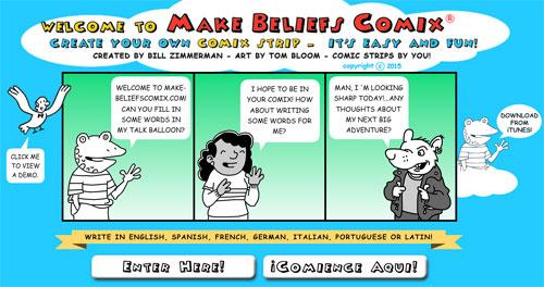 Herramientas para crear cómics en inglés y español