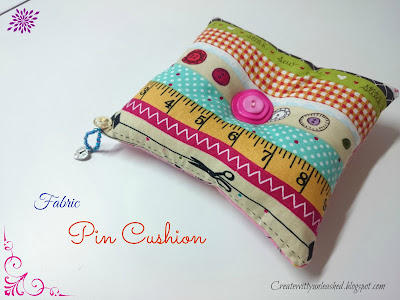 fabric pincushion