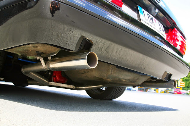 w126 exhaust