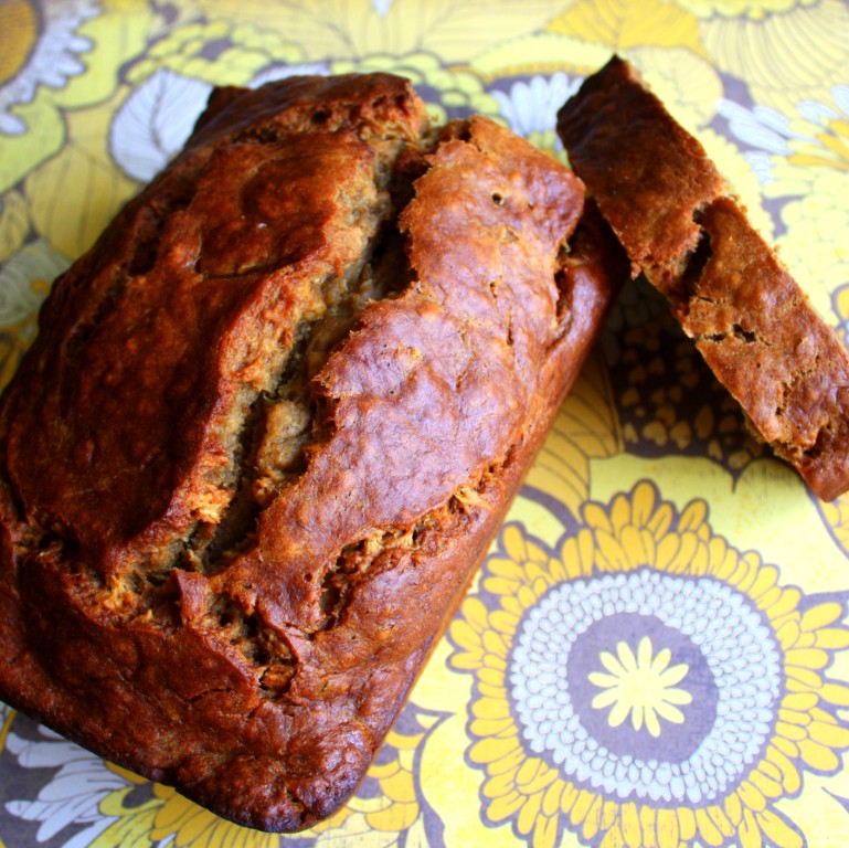 Dark Banana Bread Recipe