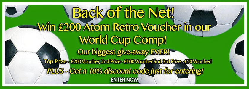 Back of the Net - Atom Retro World Cup Competition