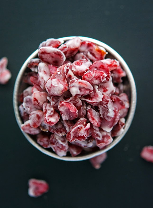 Yogurt-Covered Cranberries (A Paleo-ish Snack) Print this recipe!