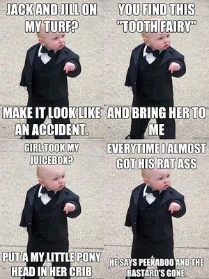 Baby Godfather  Know Your Meme