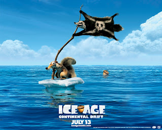 Ice Age Continental Drift Scrat HD Wallpaper