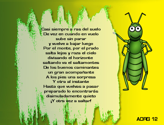 poemas para niños El saltamontes Poema+saltamontes+dibujo+draw+insect+ort%C3%B3pteros+para+ni%C3%B1os+poem