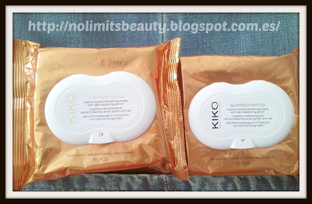 Kiko Summer Wipes