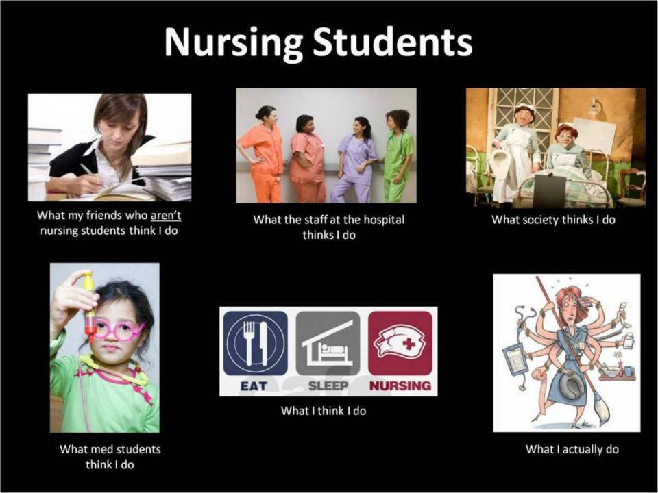 Nursing School Is Not For Sissies