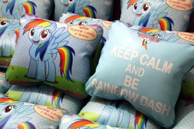 Bantal Souvenir Ulang Tahun Anak My Litle Pony