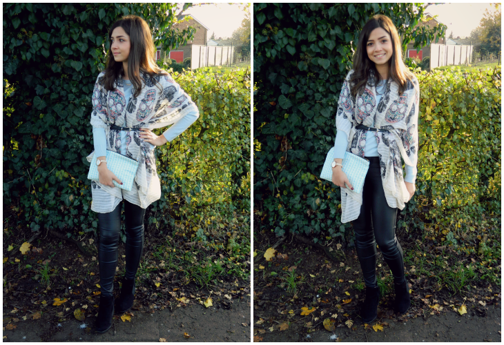 Love From Lisa Belted Scarf & Lola and Me Clutch Bag