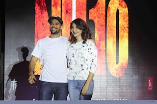 Anushka & Neil Bhoopalam promotes their cinema