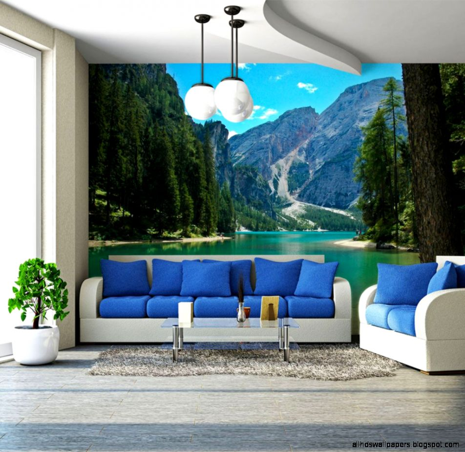 10 Incredible Nature  Landscape Wall Murals that will win you over