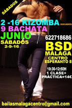 JUNIO EXPRESS SÁBADOS 2-9-16 EN BSD BAILAS MÁLAGA CENTRO.