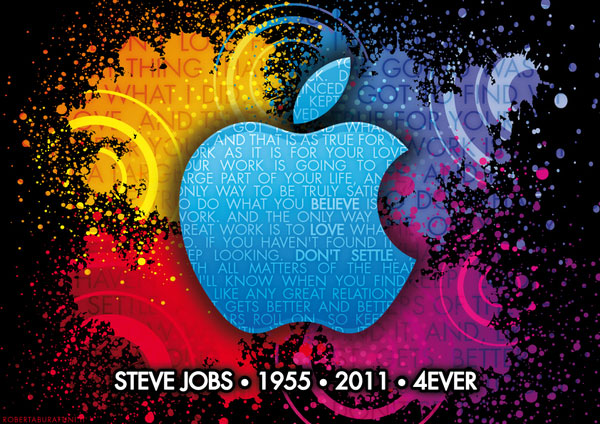 burattini 20 Awesome Graphical Tributes to Steve Jobs