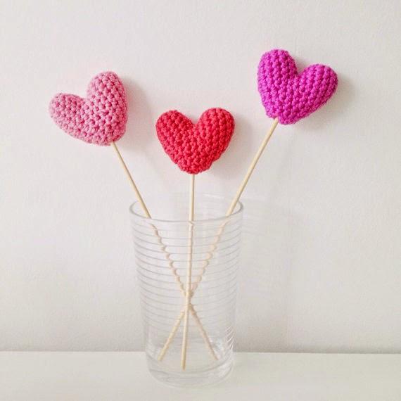 Annemaries Haakblog Crochet Hearts Pattern