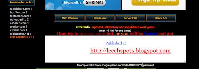 Afreet-Premium Link Generator