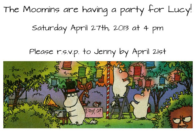 moomin party invitation - muumi kutsu
