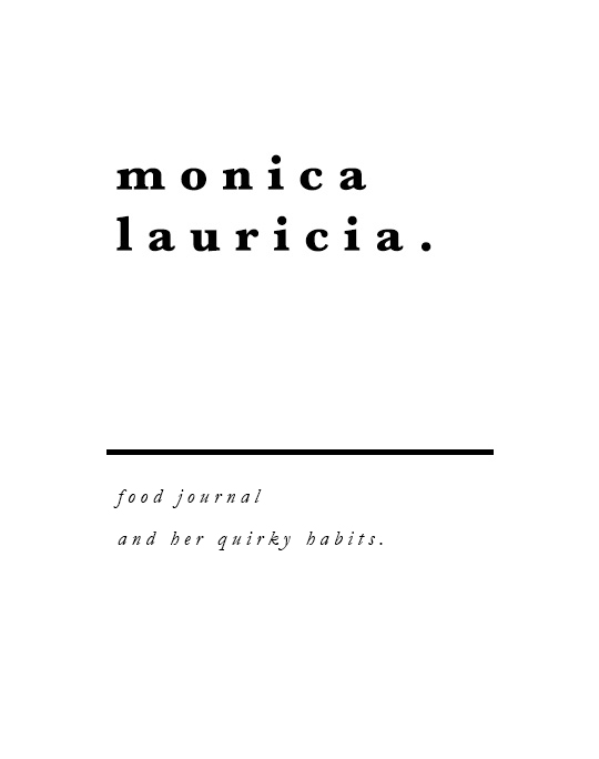 Monica Lauricia • Indonesian Food Journal & My Quirky Habits