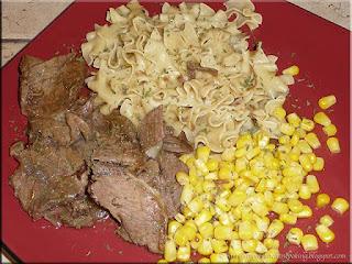quick start roast beef dinner