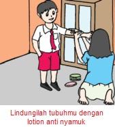 Lindungilah tubuhmu dengan lotion anti nyamuk