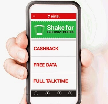 My Airtel App Offer - Rs 25 Free Talktime On 50+ Mobile Recharge