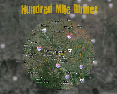 Hundred Mile Radius of St. Louis