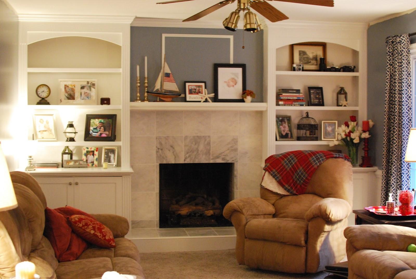 Just Enjoying Life ...: Fireplace makeover ...