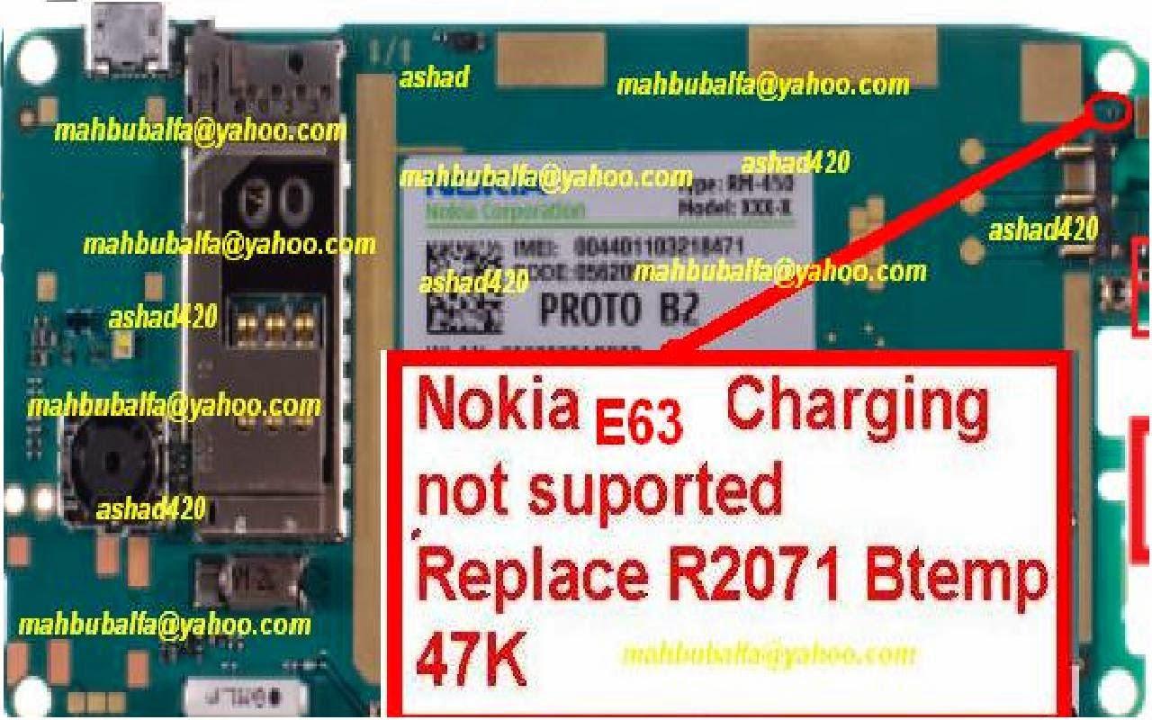 Nokia E63 Charging Problem
