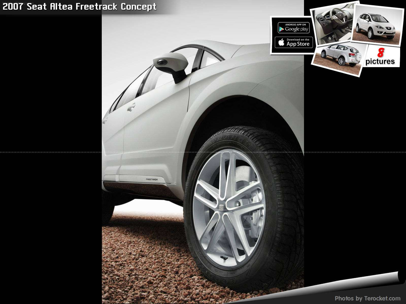 Hình ảnh xe ô tô Seat Altea Freetrack Concept 2007 & nội ngoại thất