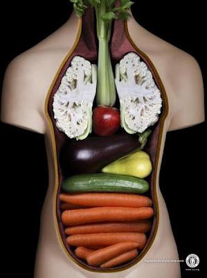 Frutas y Verduras Vs El Cuerpo Humano Similitudes