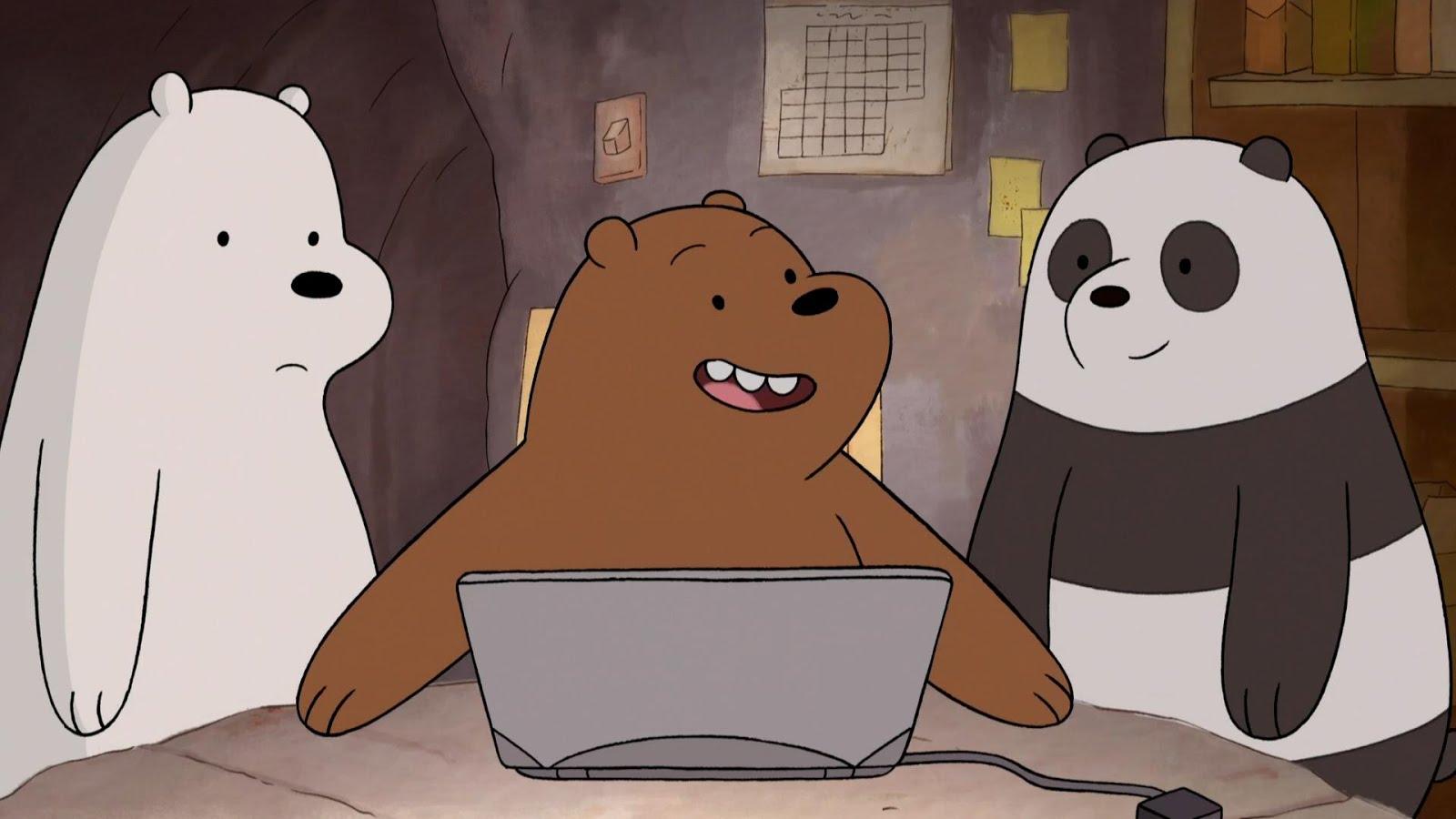 Novos episódios de Ursos sem Curso