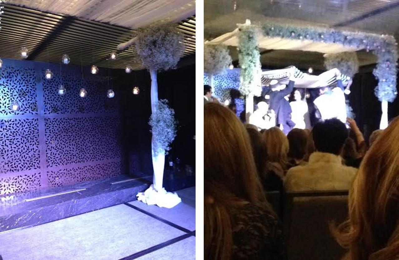 Ceremonia de boda por el rito judío