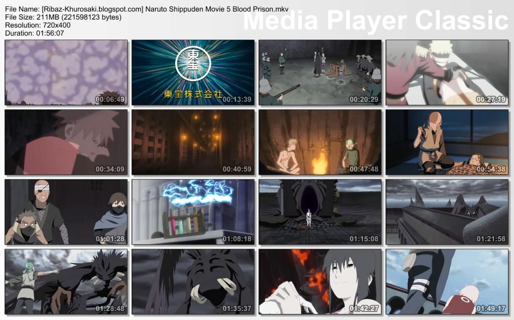 Video Naruto Shippuden The Movie 5 : Bloods Prison 3gp Sub Indonesia