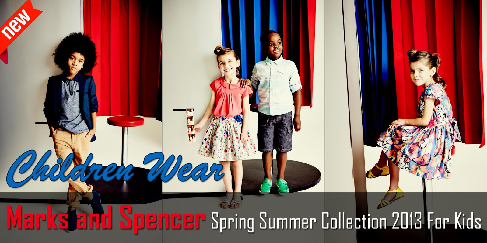 Marks And Spencer Spring Summer Collection 2013 For Kids