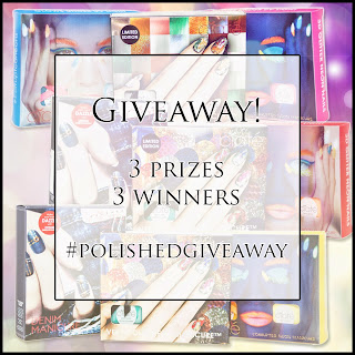 #polishedgiveaway nail polish giveaway Polished Elegance nail art blog