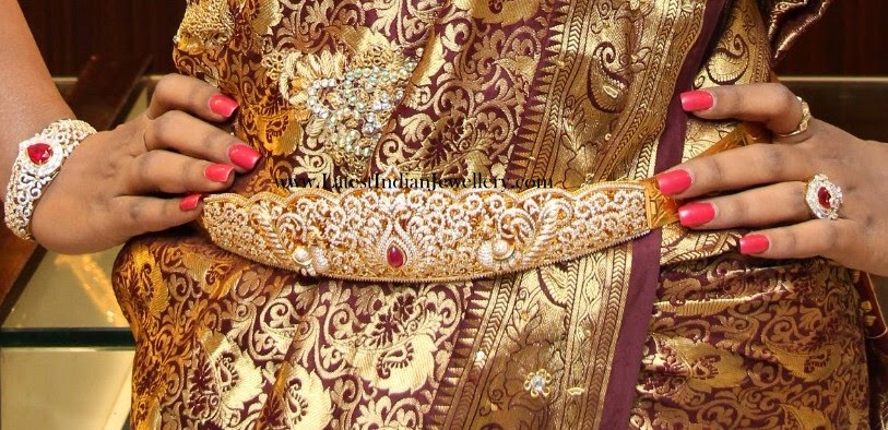 Diamond Vaddanam and Bangle