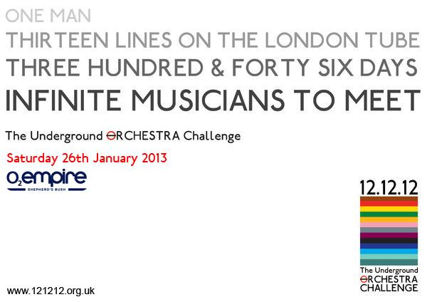 121212 : The Underground Orchestra Challenge