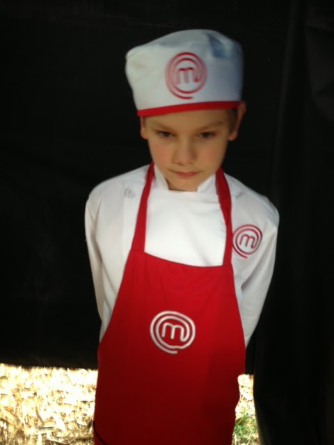 Logan Guleff Red Team on MasterChef Junior