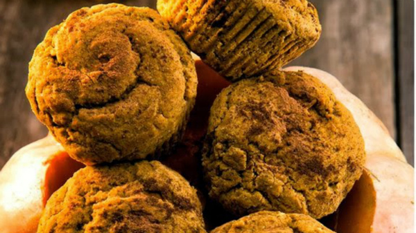 Pumpkin Pie Muffins - Kim's Welcoming Kitchen