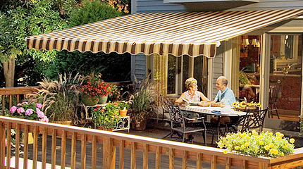 Sunsetter Retractable Awnings Alamo Door Amp Gate