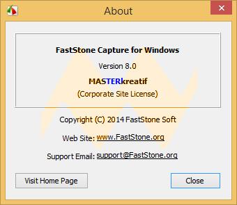 FastStone Capture 8.0