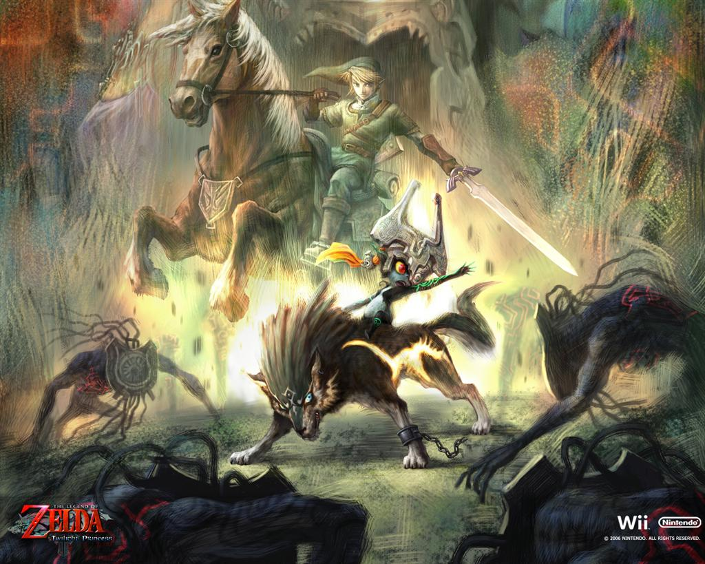The Legend of Zelda HD & Widescreen Wallpaper 0.912005442923791