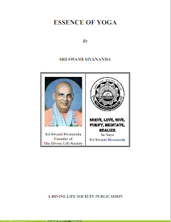 Essence of Yoga by Sri swmi sivananda Mediafire ebook
