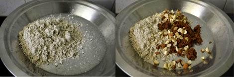 sathu maavu laddu preparation