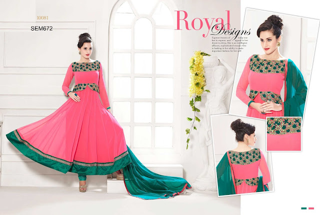 Latest New Georgette Long Designer Anarkali Suit