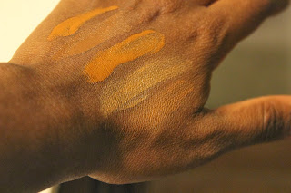 foundation swatches, WOC